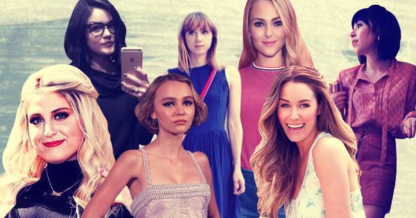 Lucy Hale, Zoe Kazan, AnnaSophia Robb, Carly Rae Jepsen, Meghan Trainor, LilyRose Depp, Lauren Conrad