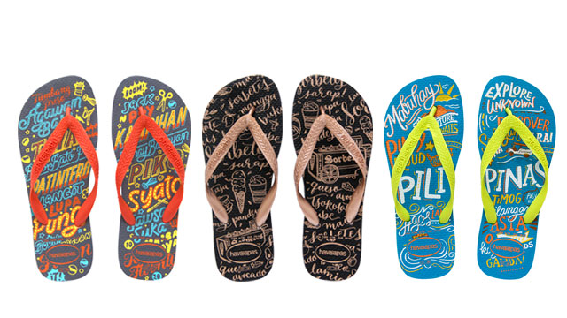 We Want These Hand-Lettered Flip-Flops Designed by Abbey Sy, Alessa Lanot, and Patrick Cabral