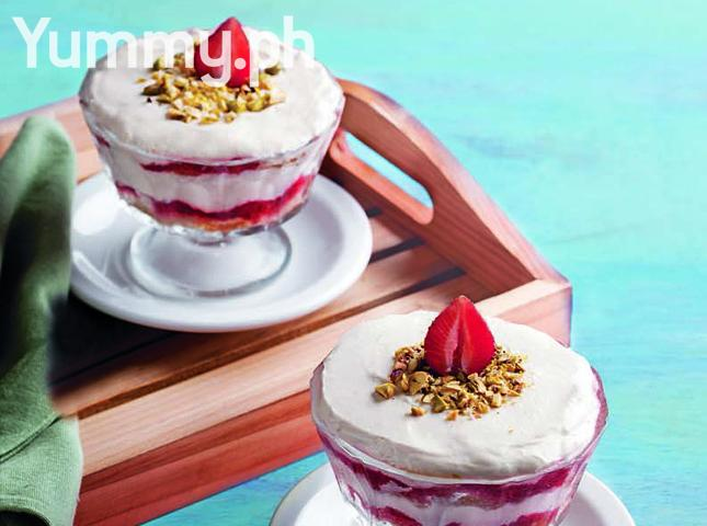 Strawberry Espresso Trifle