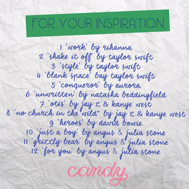 Ask Candy Playlist