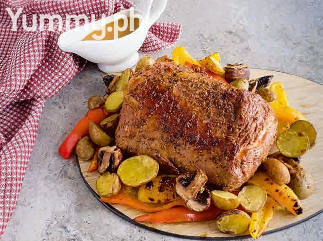 Roast Beef with Dry Spice Rub