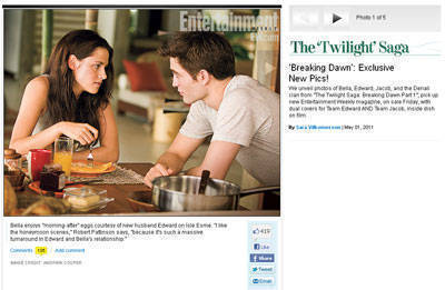 The Twilight Saga gallery on EW.com