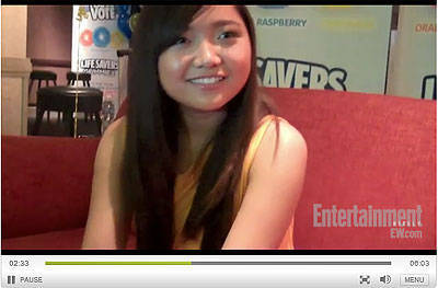 Entertainment Weekly video: Charice impersonates Justin Bieber