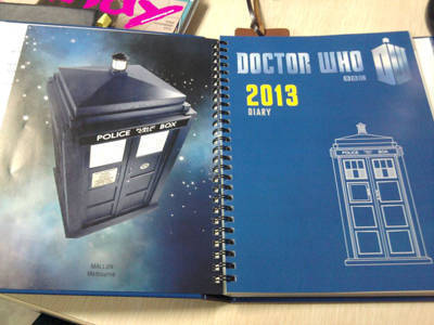 Doctor Who planner