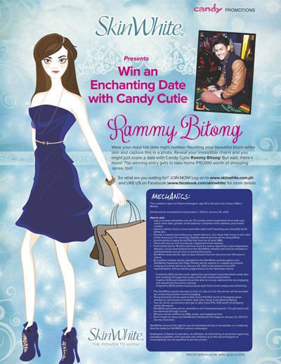Win an Enchanting Date with Candy Cutie Rammy Bitong