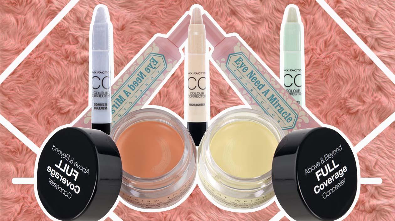 Concealer Basics: Color Correct Like A Boss