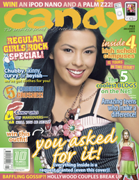 Nikki Gil Candy Magazine