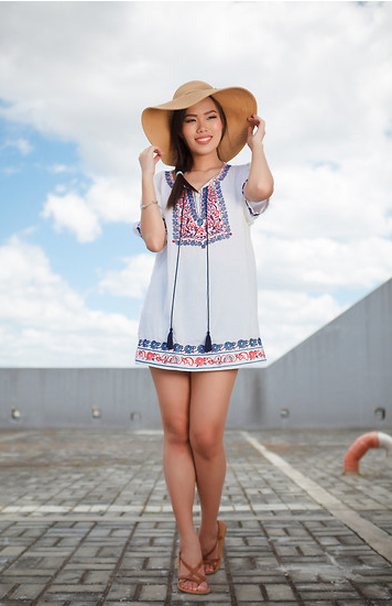 Style Equation: Hat + Dress 1