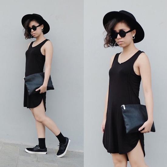 Style Equation: Hat + Dress 3