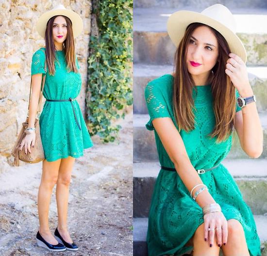 Style Equation: Hat + Dress 5
