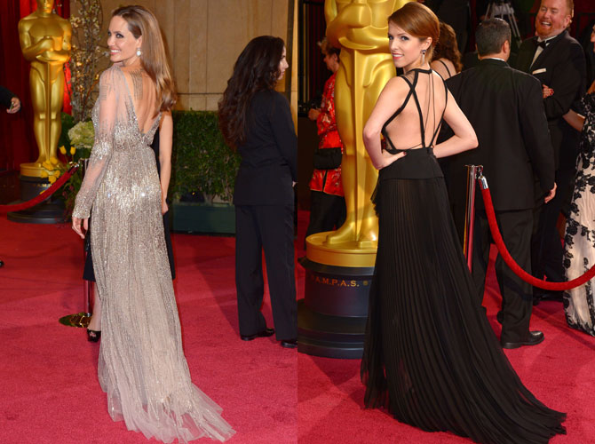 The Best Backless Gowns at the 2014 Oscar Awards | Cosmo.ph