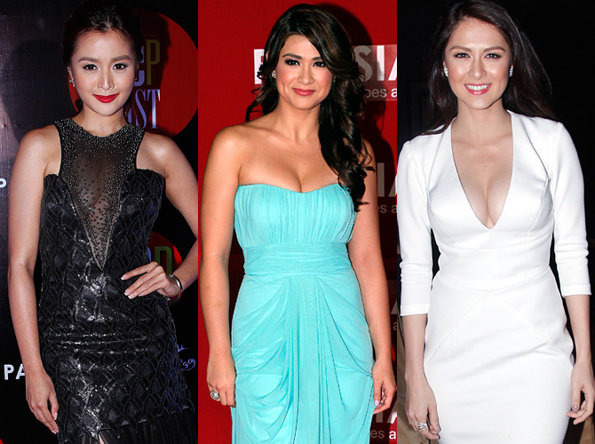 The 7 Best Boob Moments At The 2014 Pep List Awards
