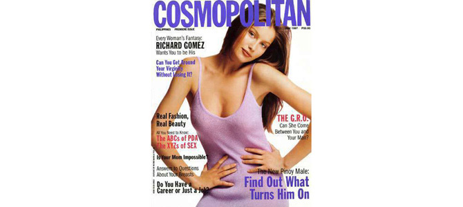 First ever Cosmopolitan Philippines cover girl