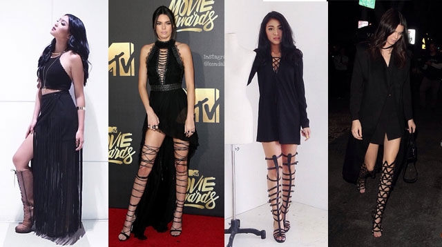 15 Outfits That Prove Nadine Lustre And Kendall Jenner Are