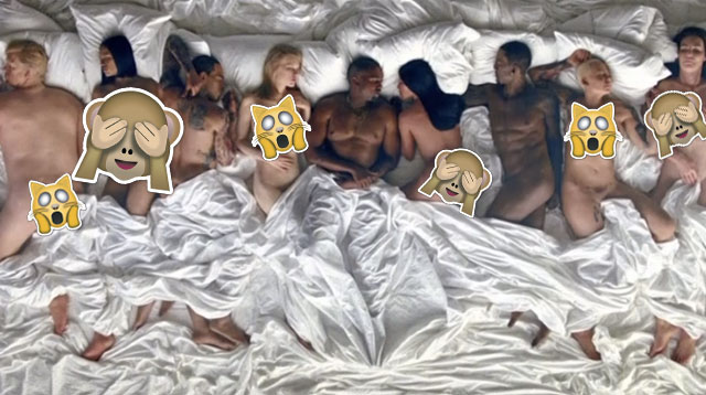 Have You Seen Kanye Wests Famous Music Video  Cosmoph-9191