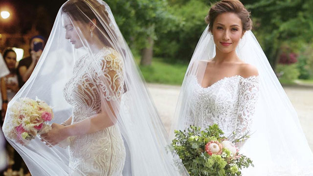 The Best Celebrity Wedding Dress Moments | Cosmo.ph
