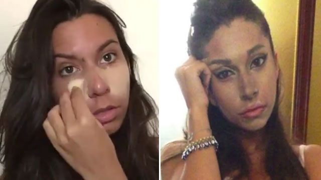 this girl s celebrity makeup transformations are so good it s scary