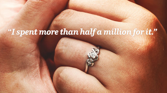 pinoys spill how much they actually spent on an engagement ring - How Much Is A Wedding Ring