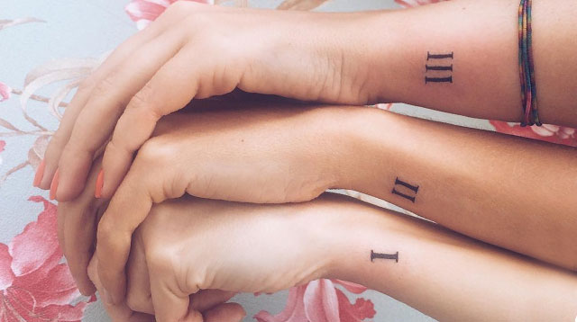 20 Matching Tattoos For You And Your Sister | Cosmo.ph