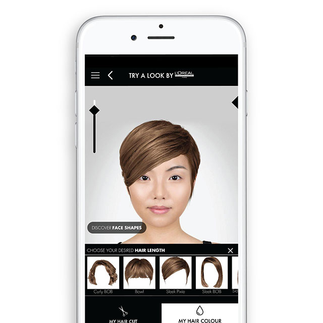 This App Is For Every Girl Who\'s Afraid To Cut Or Color Her Hair ...