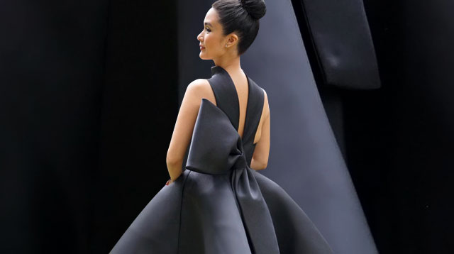 Heart Evangelista Is A Vision In Black At Her Sister S