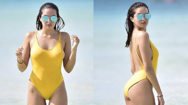 shots Celeb bikini