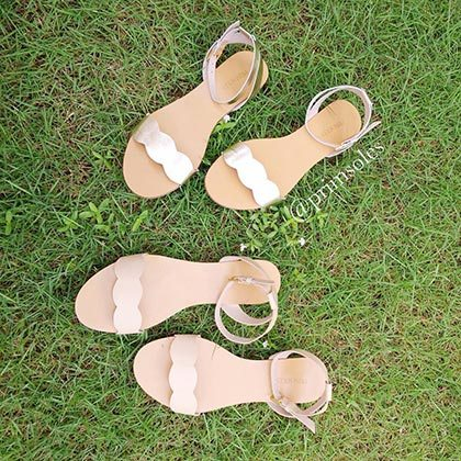 c8f1fff8a4ff8 The Lily sandals from Prim Soles feature a scalloped design