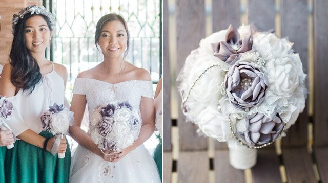 This Bride Saved Money By Making Her Own Bouquet And Bridesmaid Dresses