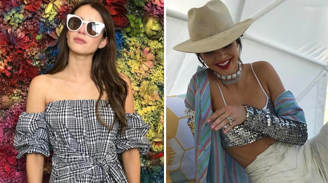 What Celebrities Wore To Coachella 2017