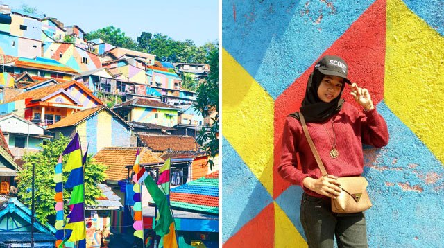 This Rainbow Village In Indonesia Will Look Amazing On Your IG