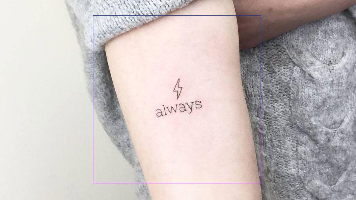 Tiny Statement Tattoos