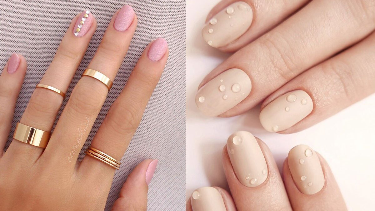 Conservative Wedding Manicures | Cosmo.ph