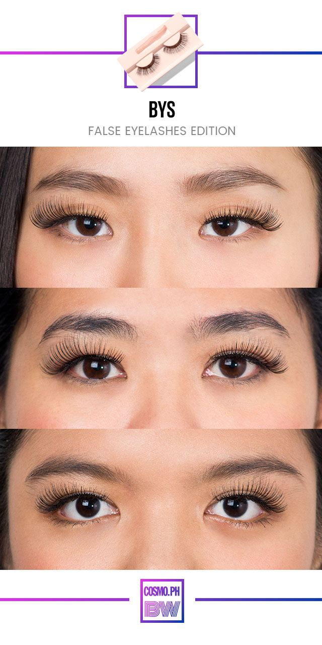 False Eyelashes Review And Price List Cosmo