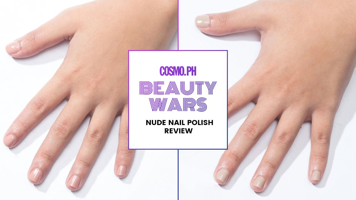 Nude Nail Polishes Review   Cosmo.ph