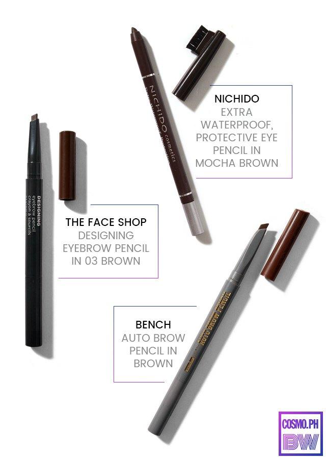 Makeup Review Eyebrow Pencils Under P300 Cosmo