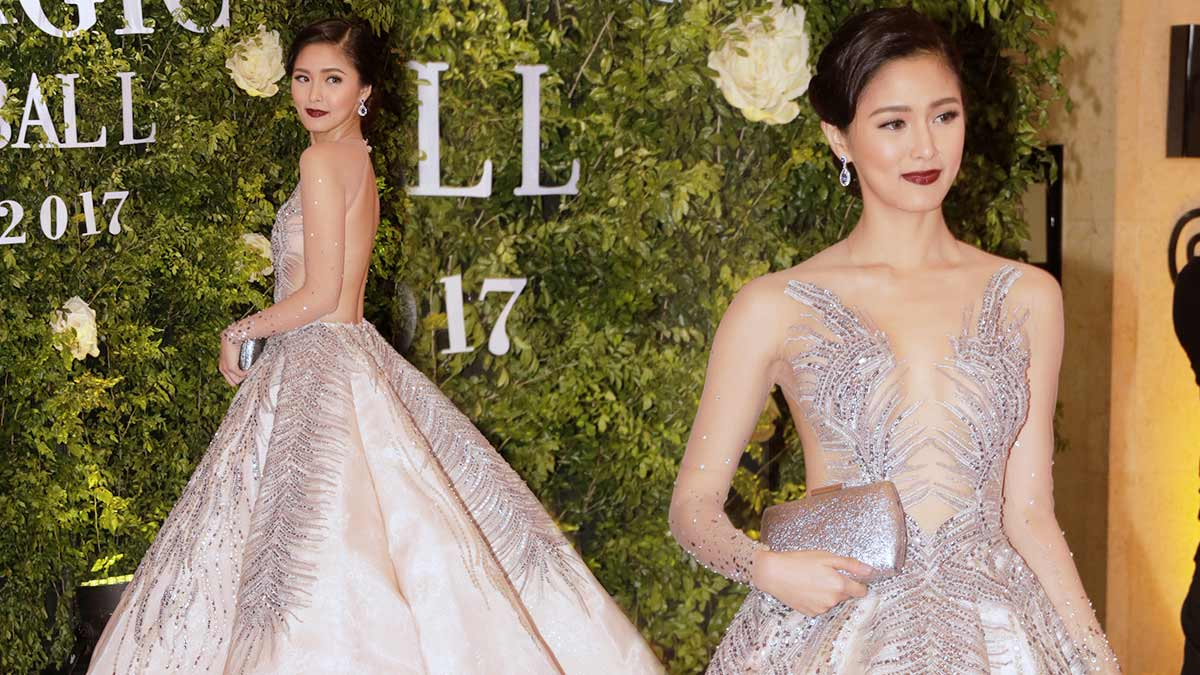 Kim Chiu\'s Scene-Stealing Pink Gown Is Everything   Cosmo.ph