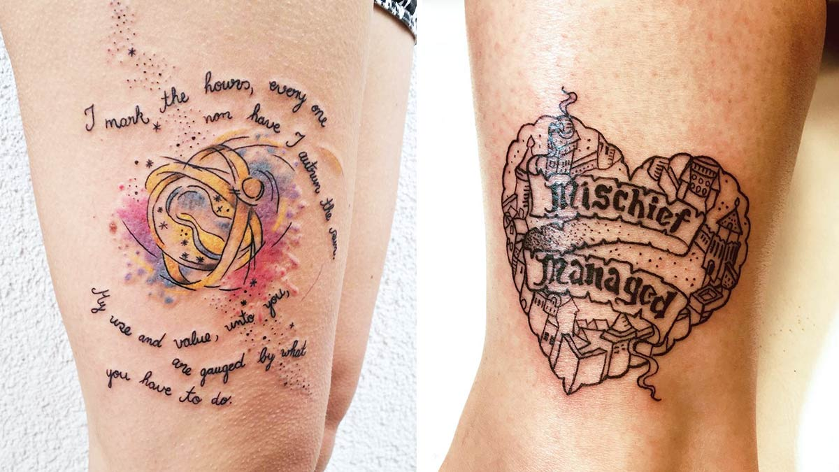 Tattoos Love Quotes You'll Love These 14 Harry Potter Quotes Turned Into Tattoos