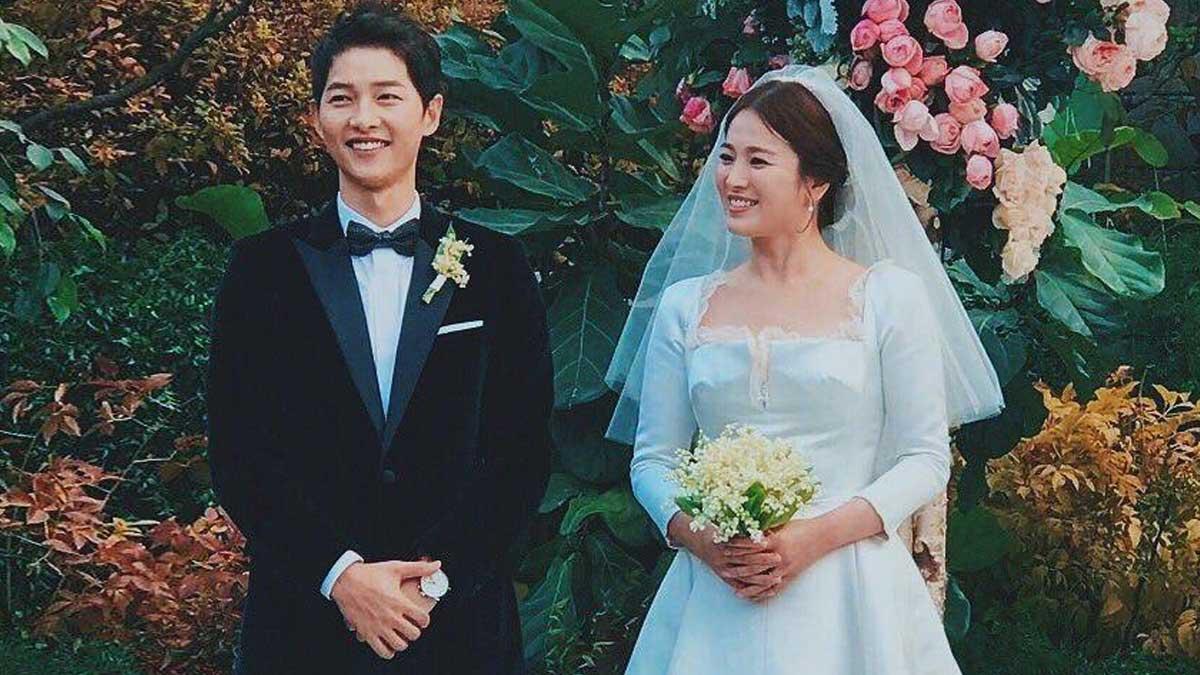 Song Joong Ki And Song Hye Kyo Wore Dior To Their Wedding