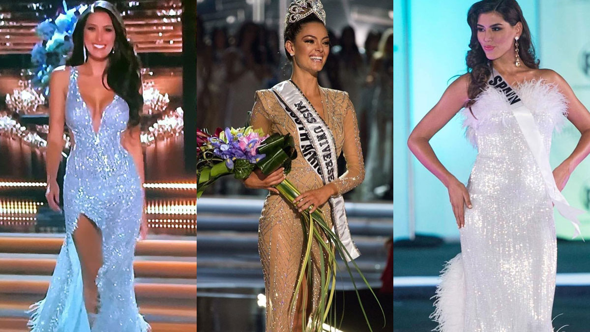 Top 10 Best Evening Gown Miss Universe 2015 - raveitsafe