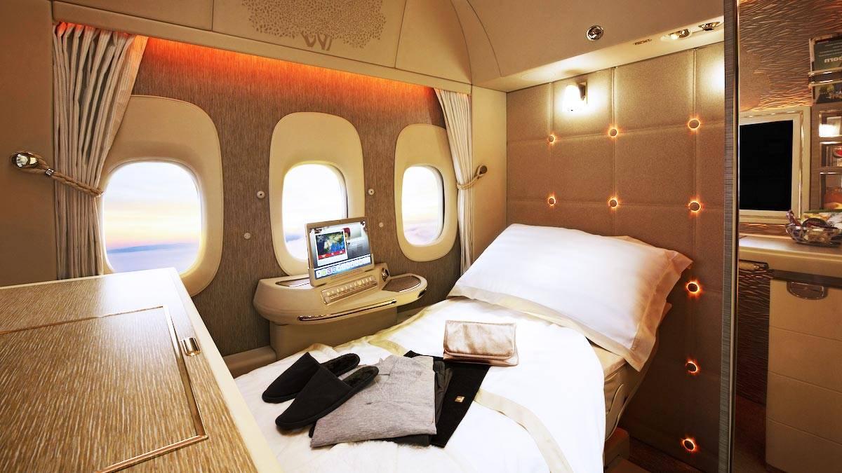 Emirates Private Room On Plane