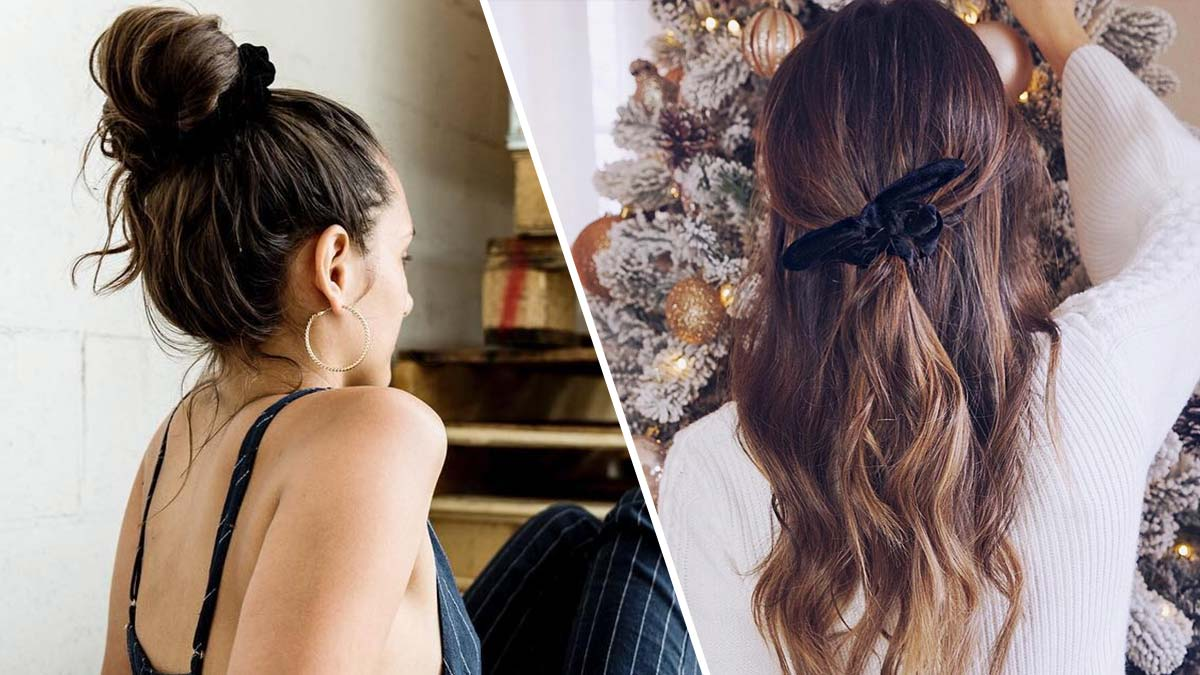 Scrunchie Hair Styles: Modern Ways To Wear The Scrunchie