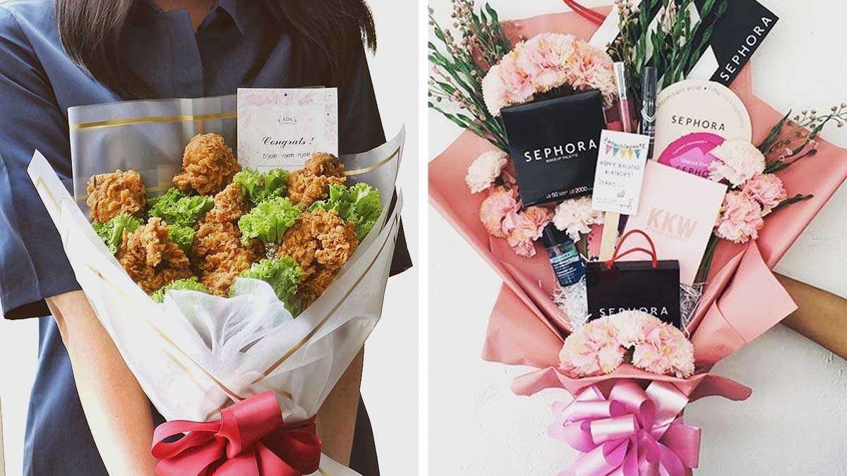 10 non traditional bouquets to give and receive this v day cosmo 10 non traditional bouquets to give and receive this v day izmirmasajfo Images
