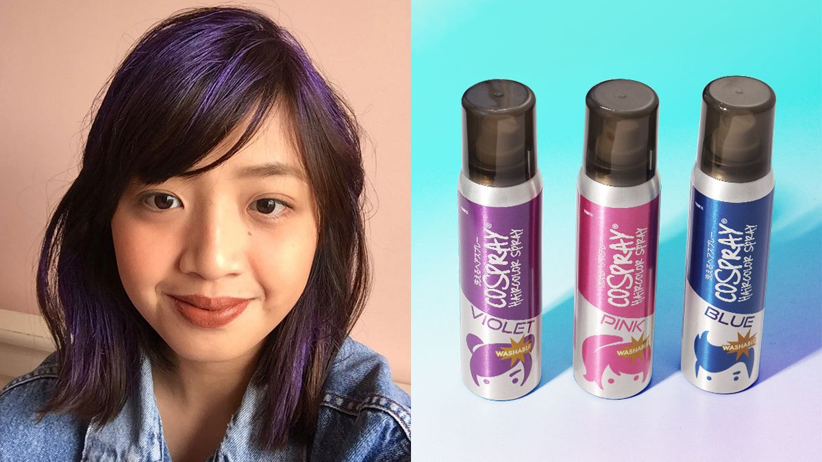 Does Washable Color Hairspray Really Work? | Cosmo.ph