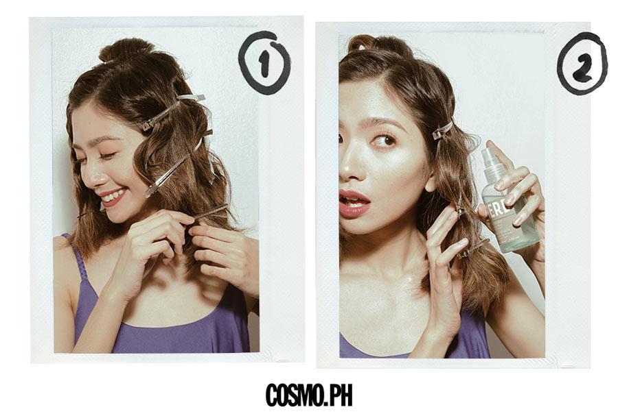 Hairstylist Suyen Salazar Teaches Beach Wave Hair Techniques Cosmo Ph