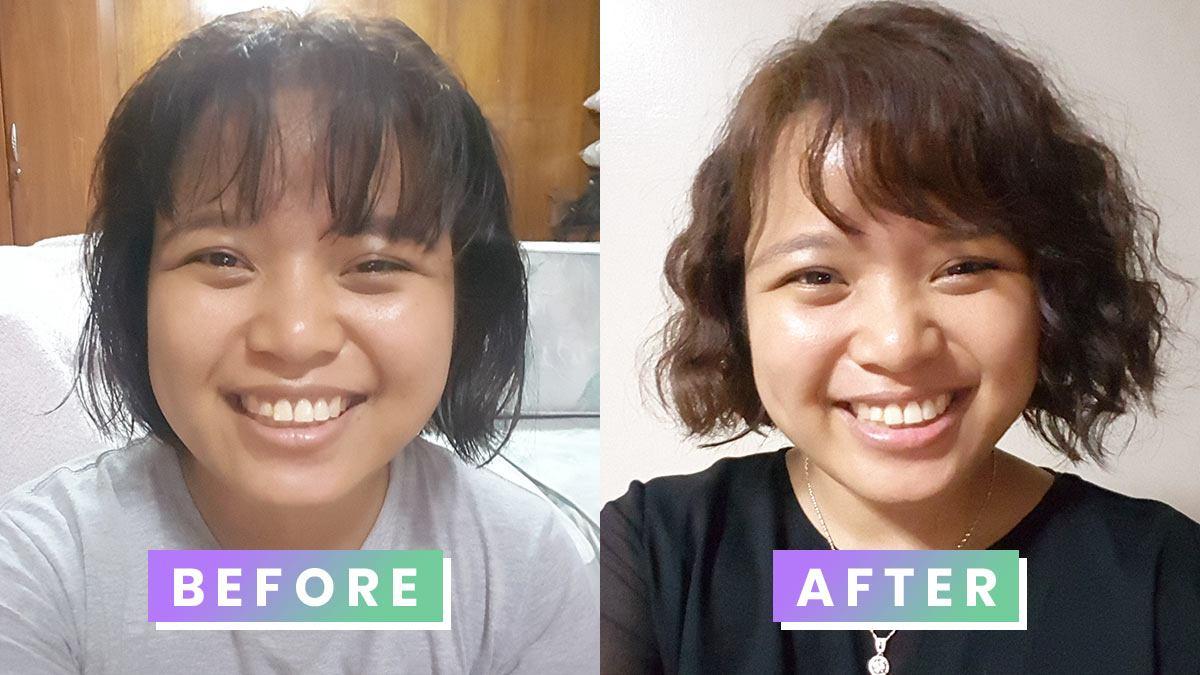 Budget friendly diy hair perming cosmo i diy permed my hair to achieve the korean curly bob solutioingenieria Choice Image