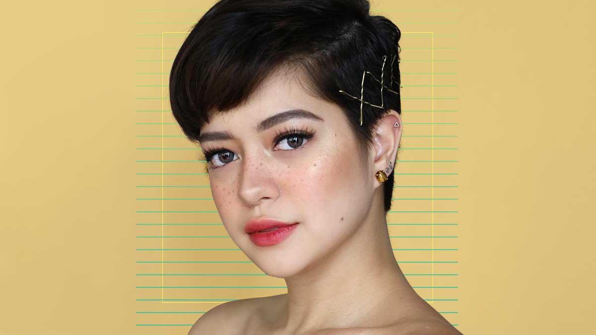 Sue Ramirez S Pixie Cut Hairstyles Cosmo Ph