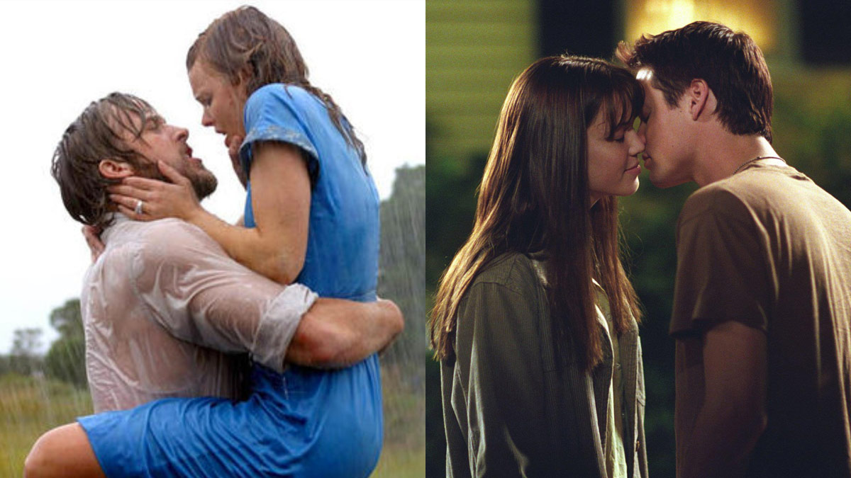 Kissing Scenes From Nicholas Sparks Movies
