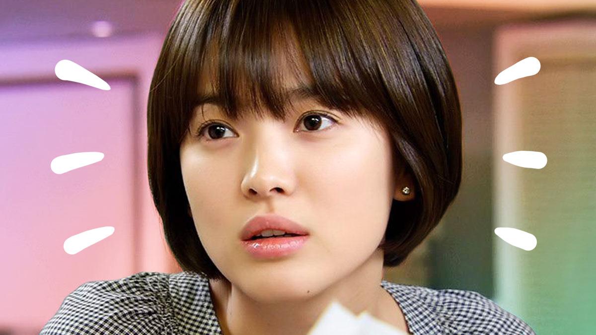 Song Hye Kyos Short Hair Cosmo