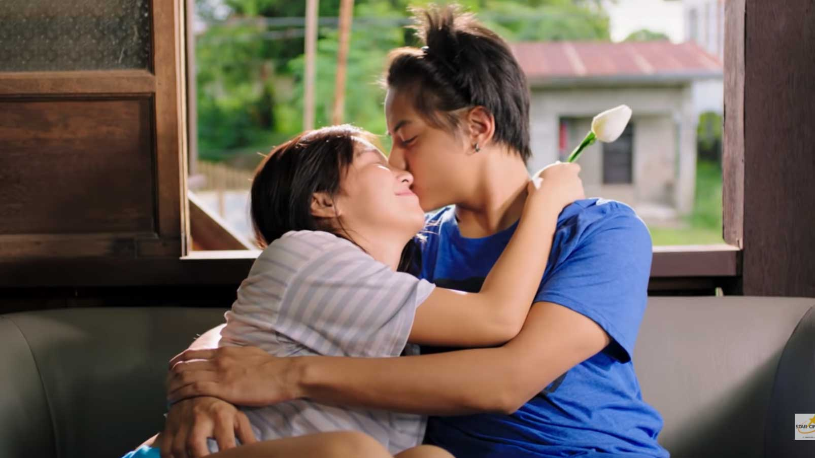 Kathniel kissing scene shes dating the gangster full
