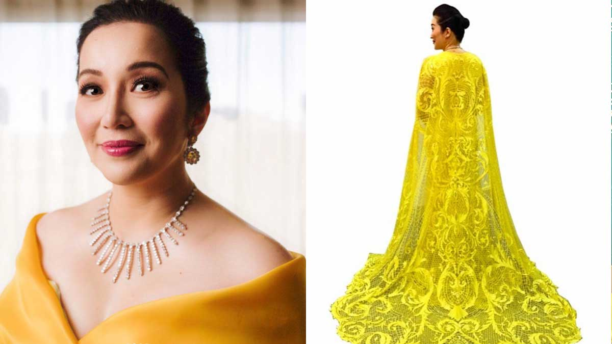 Kris Aquino\'s \'Crazy Rich Asians\' Cape Dress | Cosmo.ph